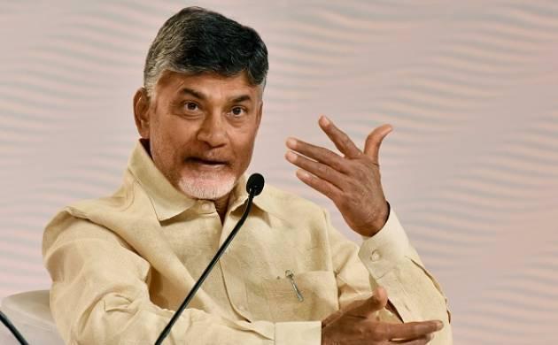 A file photo of Andhra Pradesh chief minister N Chandrababu Naidu.