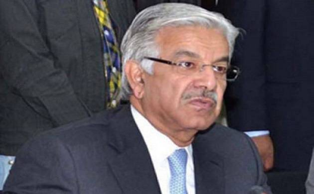 Pakistan's Defence Minister Khawaja Asif (source: SUCH tv )