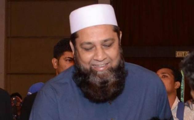 Pakistan's cricket team's chief selector Inzamam-ul-Haq.