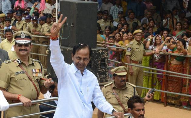 Telangana chief minister Chandrasekhar Rao.