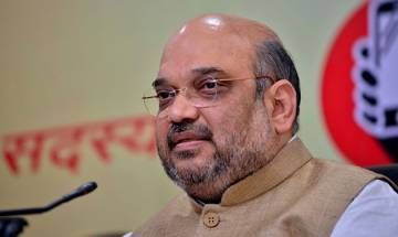 Amit Shah meets Odisha party leadership ahead of panchayat elections