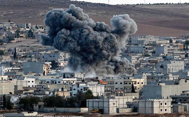 Over 40 jihadists killed in north Syria air strikes: Monitor