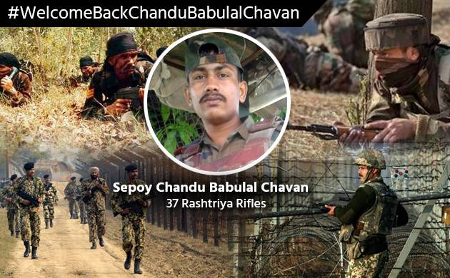 Sepoy Chandu Babulal Chavan to return India at 3PM via Wagah border (Newsnation Image)