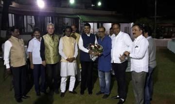 Mumbai: Ex-Congress MLA Krishna Hegde, bollywood actor Dalip Tahil join BJP