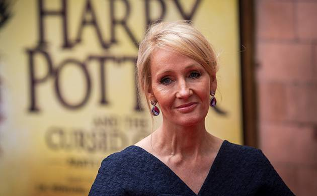 'Harry Potter' author J.K. Rowling