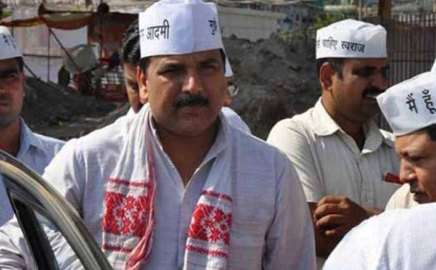 In-charge of AAP's affairs in Punjab Sanjay Singh (PTI Image)
