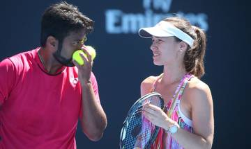Leander Paes and partner Martina Hingis lose to Groth-Stosur pair in Australian Open mixed doubles quarterfinals