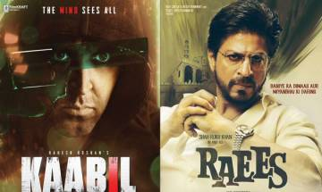'Raees' vs 'Kaabil' box office collection: Here's who won the battle on first day