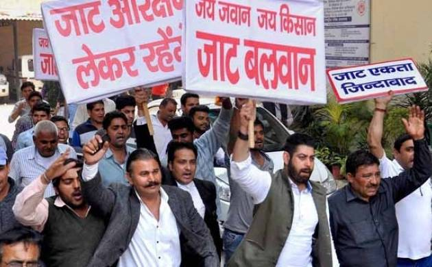 Jat group threatens to carry on quota stir till govt gives assurance in written