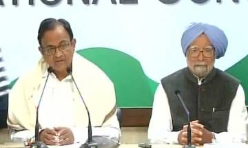BJP is hiding behind a GDP number which is being challenged, says P Chidambaram