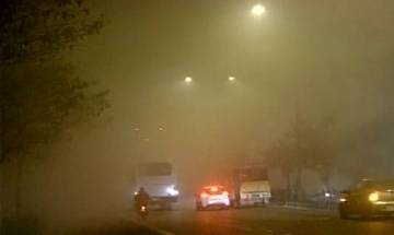 Landing operations at Delhi Airport suspended due to dense fog