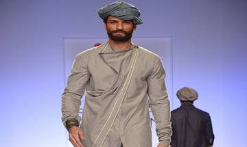 Ujjawal Dubey's spring show features grey-haired models