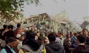 Under-construction building collapses in Kanpur; 7 dead, many feared trapped