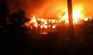 Nagaland: Violence erupts over urban local bodies polls in Kohima; Municipal Council building on fire