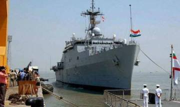Indian Navy displays its prowess on Krishna river for the first time at Amaravati