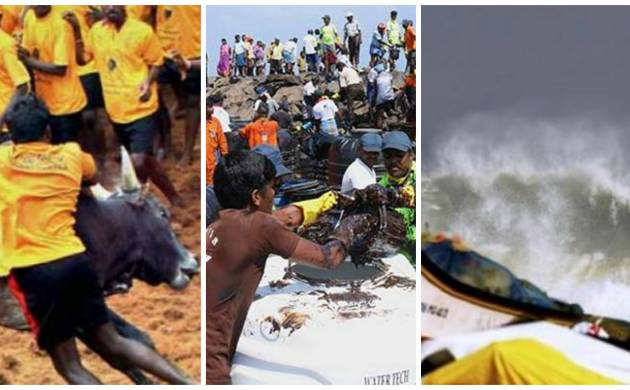 Chennai's Marina Beach spell of ill fate continues with Oil spill wreaking havoc along entire coastline