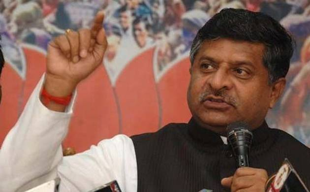 Ravi Shankar Prasad asks Congress, SP and BSP to make their stand clear on triple talaq issue