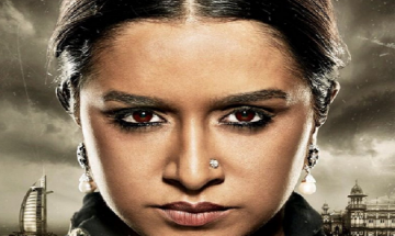 Shraddha Kapoor with her kohled eyes in 'Haseena's first look is breaking girl-next-door image