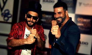 Watch: Akshay Kumar and Ranveer Singh set stage on fire on Akki's track Hookah Bar