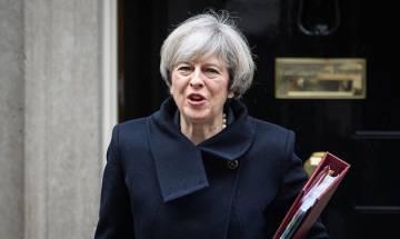 British PM Theresa May warns potential rebels over Brexit Bill