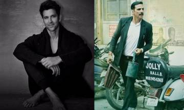 Jolly LLB 2: Hrithik Roshan has 'jolly good' response for Akshay Kumar's courtroom drama