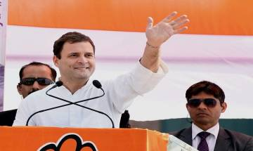 With raincoat jibe, PM Modi has lowered dignity of his office: Rahul Gandhi