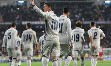 Real Madrid defeat Napoli in first leg of quarter finals of UCL
