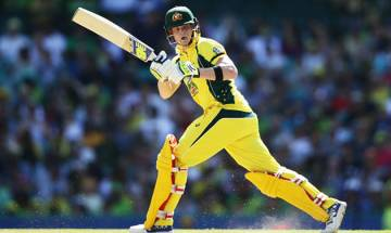 Captain Smith begins tour with century, helps Australia to reach 211 at tea