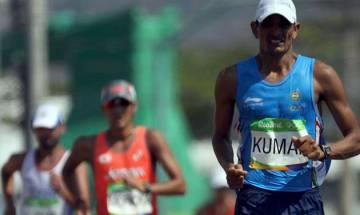 Sandeep Kumar breaks his own national record in 50km race walk
