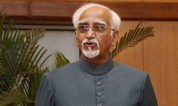No competition with China on foreign co-operation: Vice President Hamid Ansari