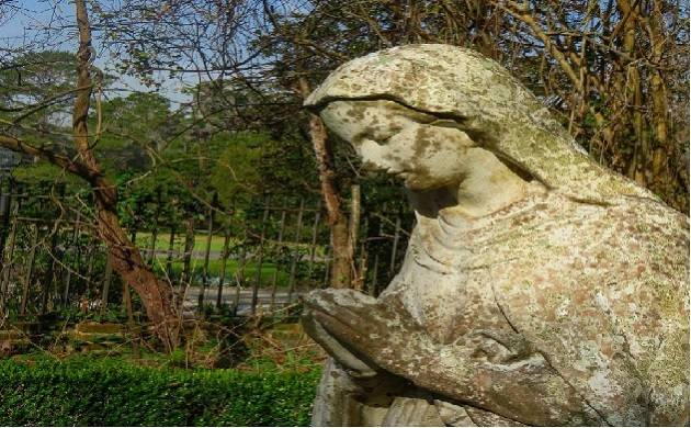 Statue of Mother Mary vandalised in Mumbai (Pic courtesy: aecameron66 instagram handle)
