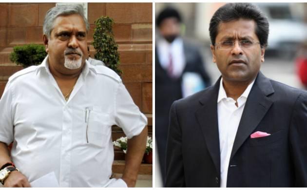 Vijay Mallya and Lalit Modi- file photo