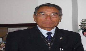 NPF chief Shurhozelie Liezietsu sworn in as Nagaland chief minister