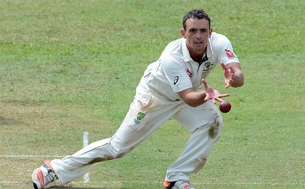 Aussie spinner O'keefe feels lucky to pick six-fer in India