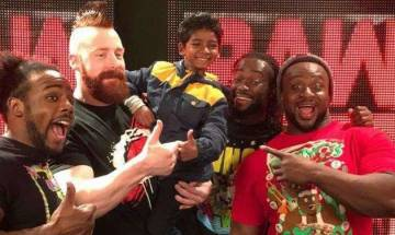 Lion star Sunny Pawar meets The Rock and other WWE idols