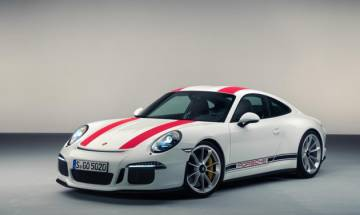 Porsche delivers first Limited Edition 911 R at around Rs 3 crore