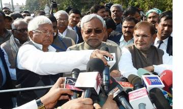 Lalu Prasad plays down Rabri's suggestion to elevate son Tejaswi as Bihar CM