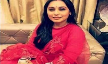 Rani Mukerji to make comeback with film 'Hichki'