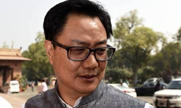 Gurmehar's martyred father's soul must be crying, says Rijiju