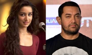 Shraddha Kapoor lauds Aamir Khan, calls him the most inspiring person