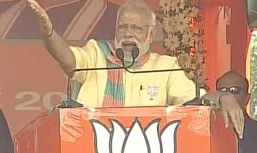 PM Modi in Deoria: Debate is whether BJP will get two-third or three-fourth majority