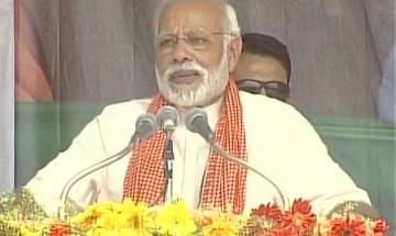 PM Modi in Mirzapur: 'More than 60% farmers benefitted from crop insurance in BJP-ruled states, while only 14% in UP'