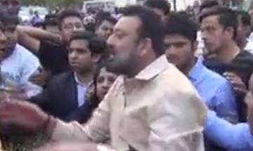 Video | Sanjay Dutt's bodyguards manhandle mediapersons on the sets of 'Bhoomi', FIR filed