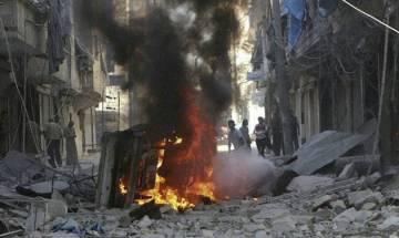 Air strikes on Syrian village kill 11 civilians: Monitor