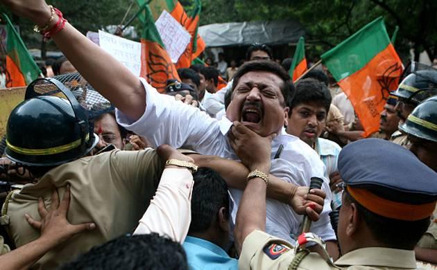 BJP workers - Representative image (Getty)