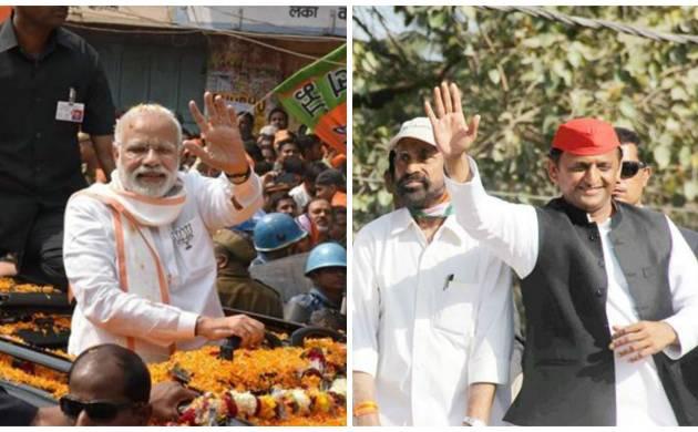 UP Polls 2017: Lusty slogans resonate through Varanasi as Modi, Akhilesh hold power shows in last effort to woo voters