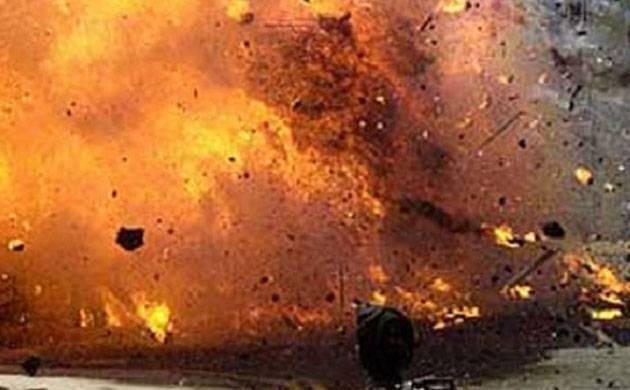 Image result for Bomb explosions in Manipur, school teacher injured