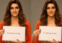 International Women's Day: Kriti Sanon has an important message for society, says 'I'm done talking'