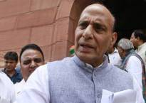 Proud of terrorist Saifullah's father for not accepting his body, says Rajnath in LS