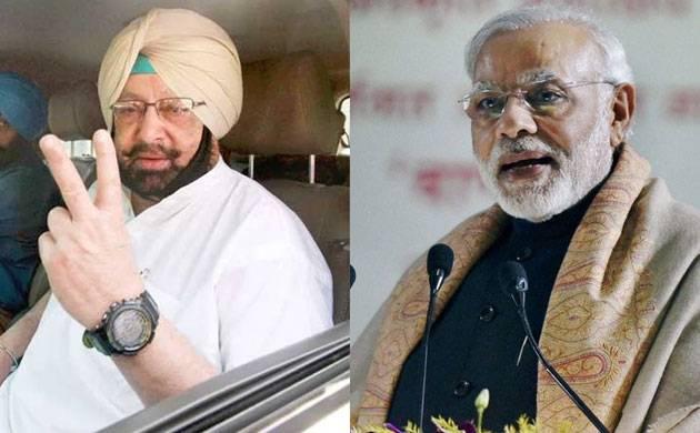 Punjab Polls Results 2017: PM Modi congratulates Amrinder Singh on his historical win